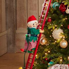Mr. Christmas Animated Musical Climbing Santa,