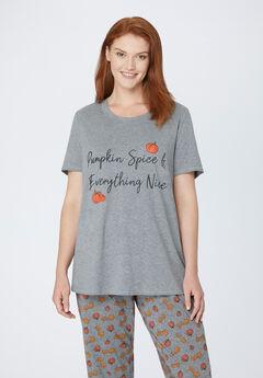 Pumpkin Spice Sleep Tee,