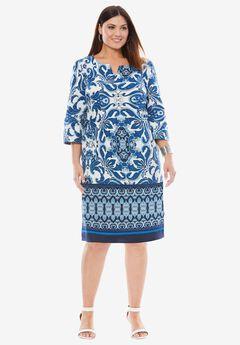 A-Line Denim Dress,
