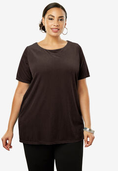 Velour A-Line Tunic,