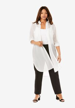 Mega Tunic, WHITE