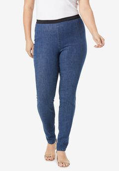 Jegging Legging, MEDIUM STONEWASH
