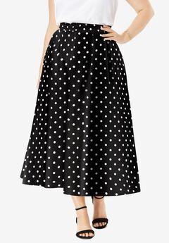 Floral Skirt,