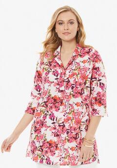 A-Line Linen Tunic,