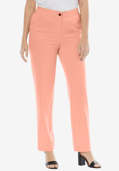Straight Leg Bi-Stretch Pants,