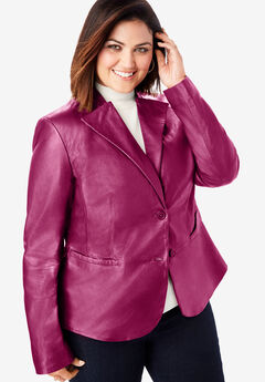 Peplum Jacket, BERRY TWIST