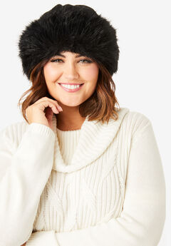 Faux Fur Hat,