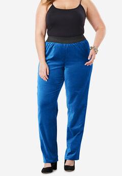 Velvet Straight Leg Pant,