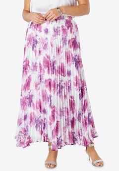 Printed Maxi Skirt,