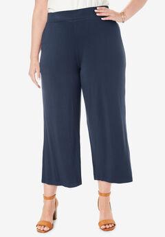 Knit Crepe Novelty Pants,