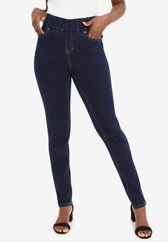Comfort Waistband Jeans, INDIGO
