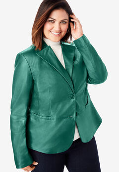 Peplum Jacket, DARK EMERALD