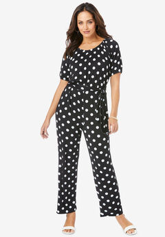 Blouson Top Jumpsuit,