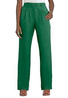 Linen Blend Pants,