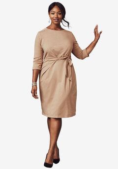 Lurex Fit & Flare Dress,