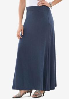 Everyday Knit Maxi Skirt, NAVY