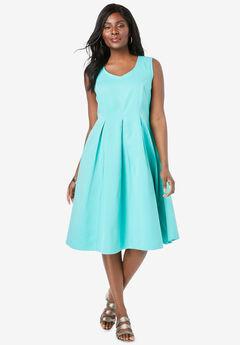 Cotton Denim Dress,
