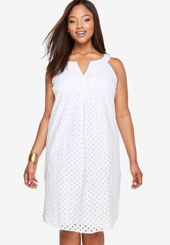 Eyelet Dress,
