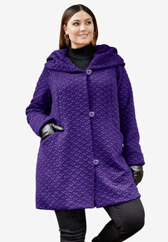 Quilted Swing Coat,