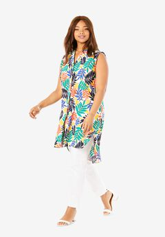 Sleeveless Mega Tunic,