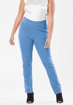 Comfort Waistband Jeans, HORIZON BLUE
