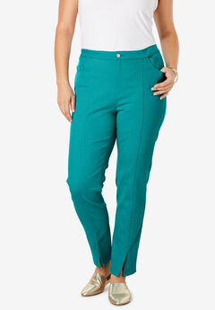 Front Seam Ankle Jean, JADE