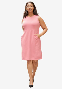 Ponte Sheath Dress,