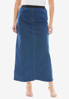A-Line Jegging Skirt,