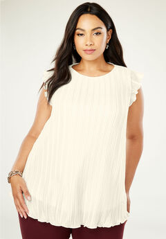 Pleated Shell, IVORY