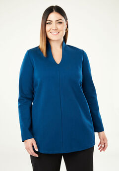Ponte A-Line Tunic, TWILIGHT TEAL