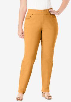 Comfort Waistband Jeans, RICH GOLD