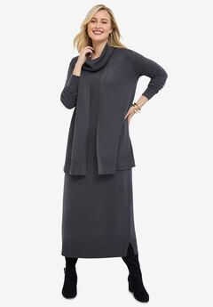 Two-Piece Sweater Dress,