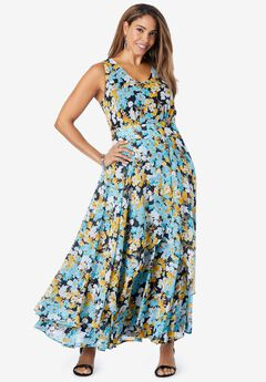 Flyaway Maxi Dress,