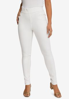 Comfort Waistband Skinny Jeans,