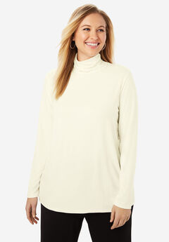 Cinched Neck Tunic, IVORY
