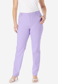 True Fit Straight Leg Jeans, BRIGHT LILAC