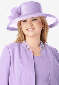 Wide Brim Hat,