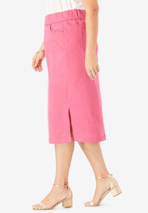08f8eec669f Comfort Waist Midi Skirt