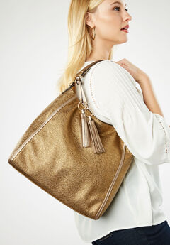 Hobo Bag, METALLIC