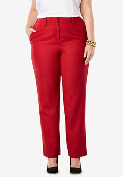 Wool-Blend Trousers,