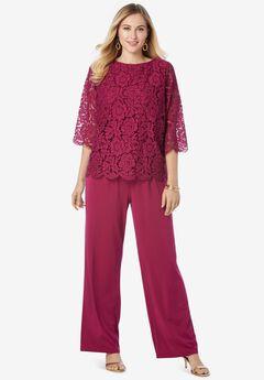 Popover Lace Jumpsuit,