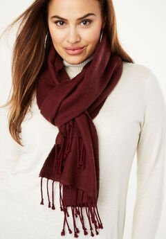 Long Scarf, DEEP MERLOT