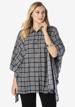 Poncho Shirt,