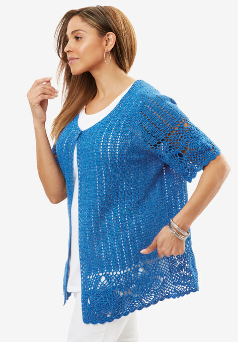 180a28c96 Crochet Cardigan