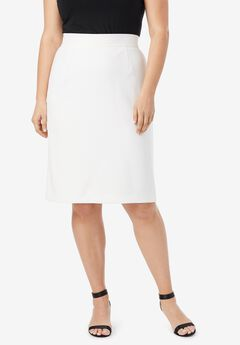 Bi-Stretch Pencil Skirt,