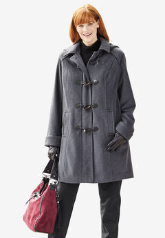 The Tailored Toggle Coat,