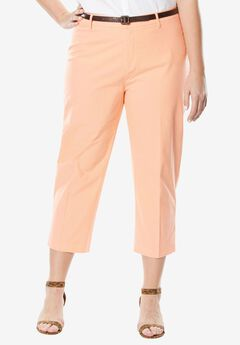 Capri Pants in Poplin ,
