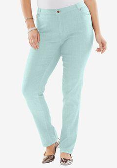 True Fit Bootcut Jeans , COOL MINT