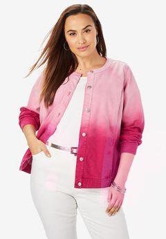 bdaf16a67ae Plus Size Jean Jackets