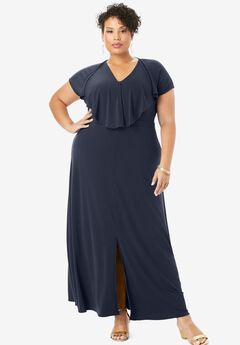 Ruffle Maxi Dress,